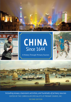 China Since 1644 cover