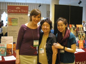 Hazel Young Hasegawa with Eavan Cully and Cindy Su of Cheng & Tsui
